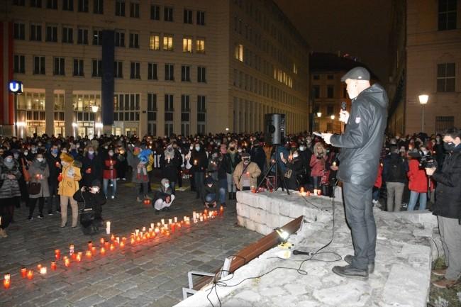 Avusturya protesto