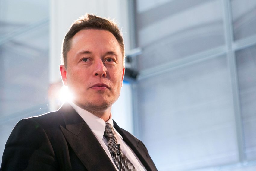 Germany's Economy And Energy Minister Sigmar Gabriel Meets Tesla Motors Inc. Chief Executive Officer Elon Musk